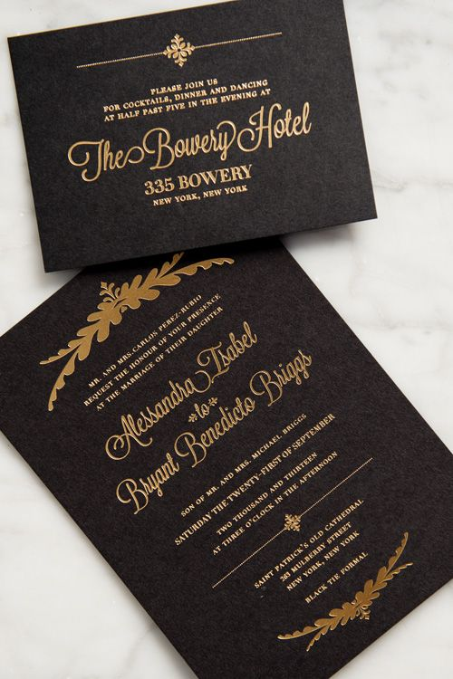 Brides: A Glamorous Ceremony At St. Patrick's Cathedral and Reception at The Bowery Hotel in New York