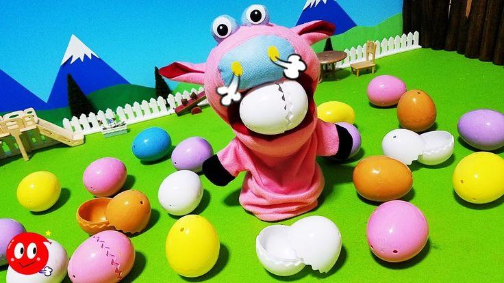 Minion Surprise Egg ミニオンズ たまご ブタさんがみつけたよ! 中から何が出るかな!?アンパンマン おかあさん 映画
