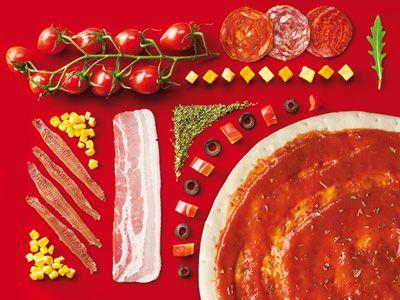 Packaging para la base para pizzas Eroski