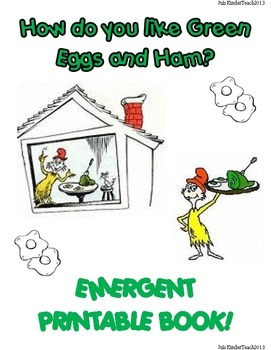 Emergent readers, Green eggs and Dr. seuss on Pinterest