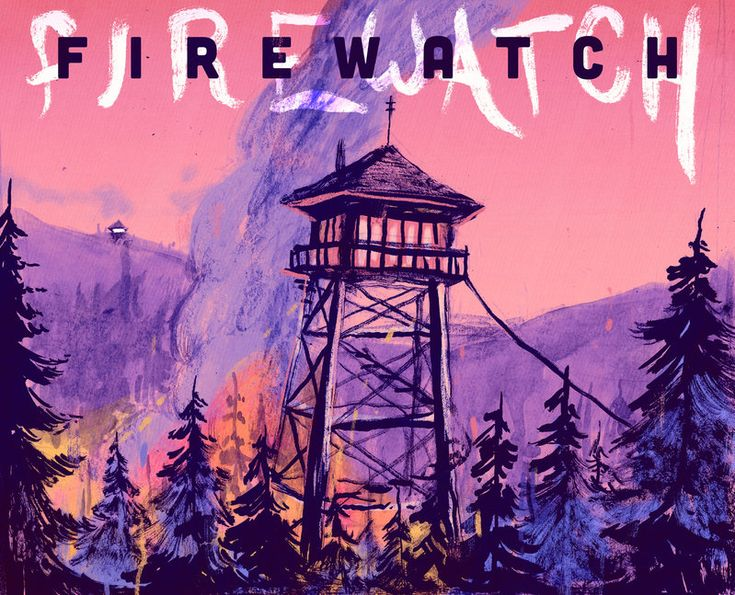 Firewatch by JMFenner91.deviantart.com on @DeviantArt