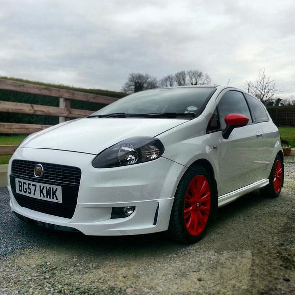 #SouthwestEngines Modified Fiat Grande Punto 2007