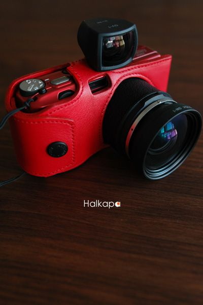 Ricoh GR Digital 2006 Limited in Red A Case