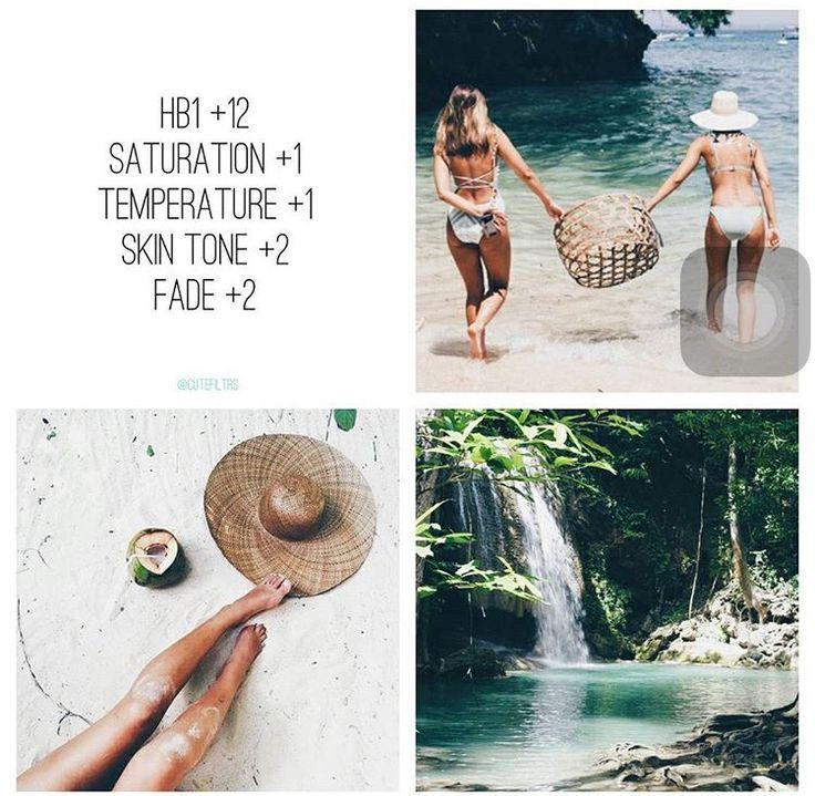 VSCO Cam Filter Settings for Instagram Photos | Filter HB1