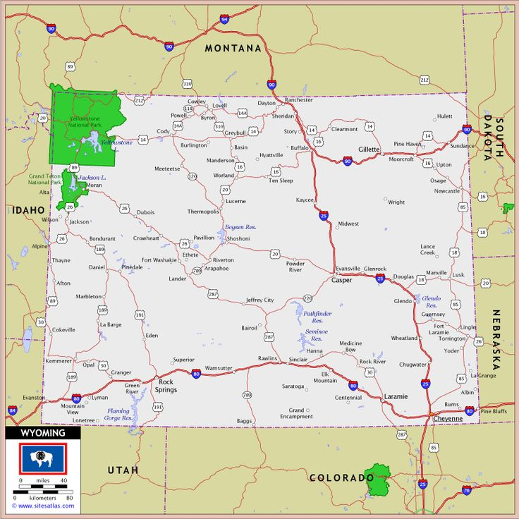 Wyoming Map Httptoursmapscomwyomingmaphtml Tours Maps - Jackson hole us map
