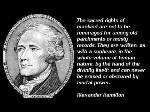 alexander hamilton quotes about god