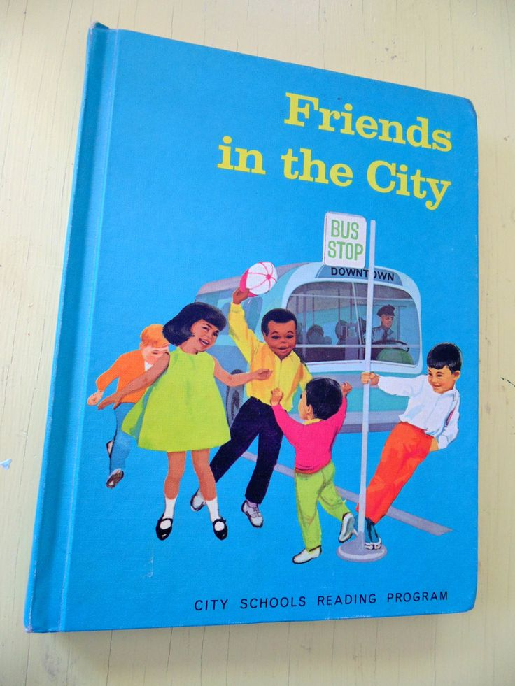 Childrens School Friends In The City Hardcover Book Reader-6910