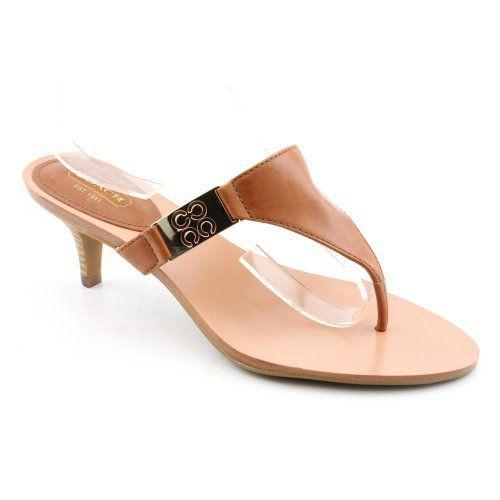 Coach Allure Open Toe Flip Flops Sandals Shoes Brown Womens New/Display  COACH. $84.99