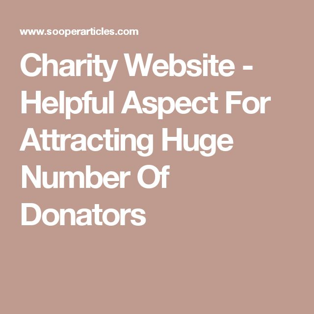 No doubt, web donations are essential for every charitable trust irrespective of its type and also plays an important role in strengthening the whole foundation of the organisation itself.