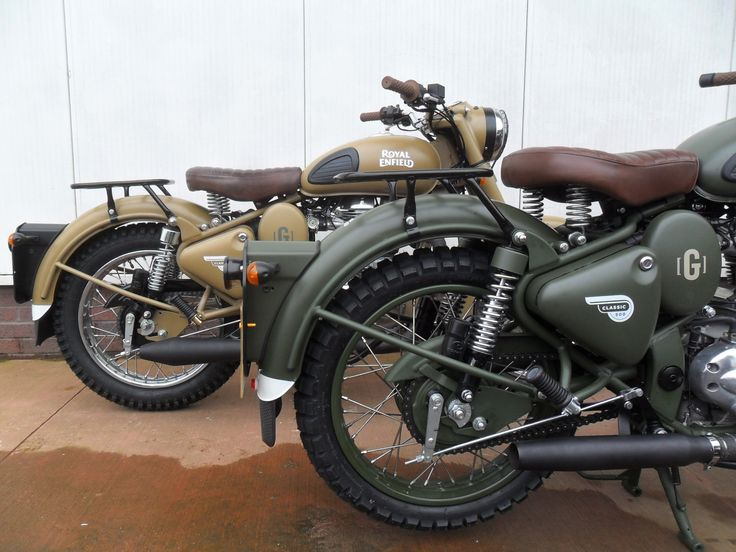 Royal Enfield Classic 500 Desert Storm by Gusto | Used Motorcycles Edinburgh – Ian Murray Motorcycles