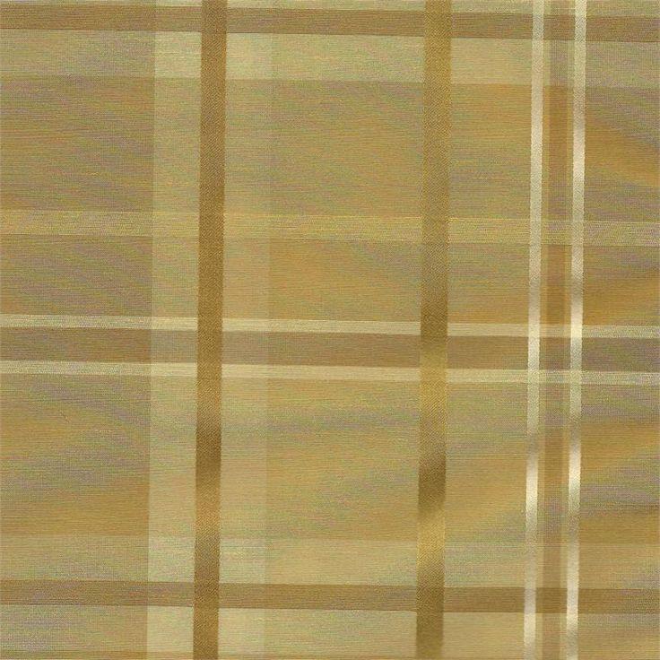 Custom Cologne Plaid Fabric Swatch EC Group B For Custom Tier Curtains,  Valances, Window