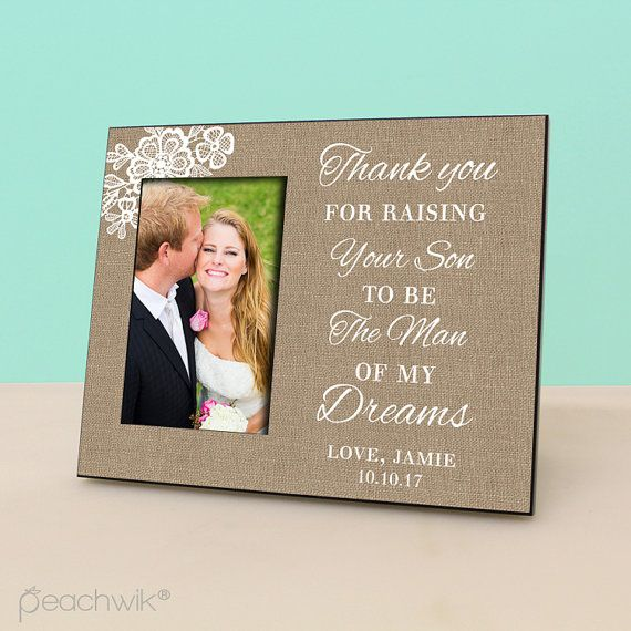 52 best Wedding Parents Thank you gift images on Pinterest   Bride ...