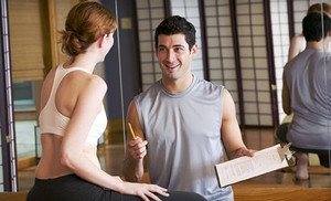 Online Course with Exam Included from National Council for Certified Personal Trainers. Groupon deal price: $148.0.00 -- Getting my personal trainer certificate is on my bucket list so might do this!