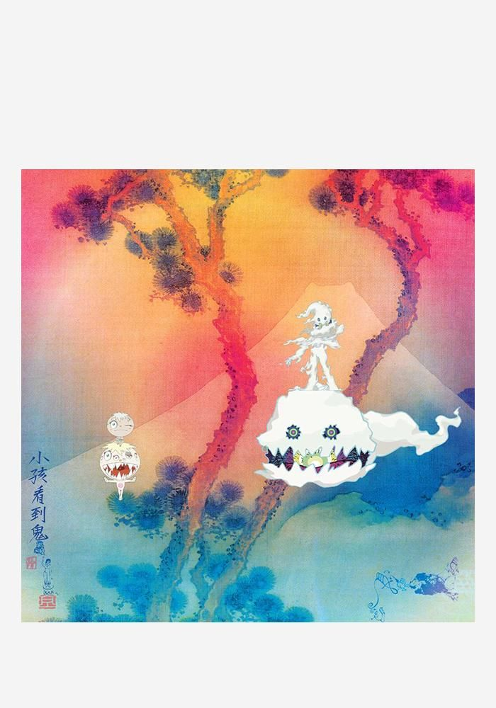 Kids See Ghosts Lp Ghost Tattoo Kanye West Kids Tattoo Themes