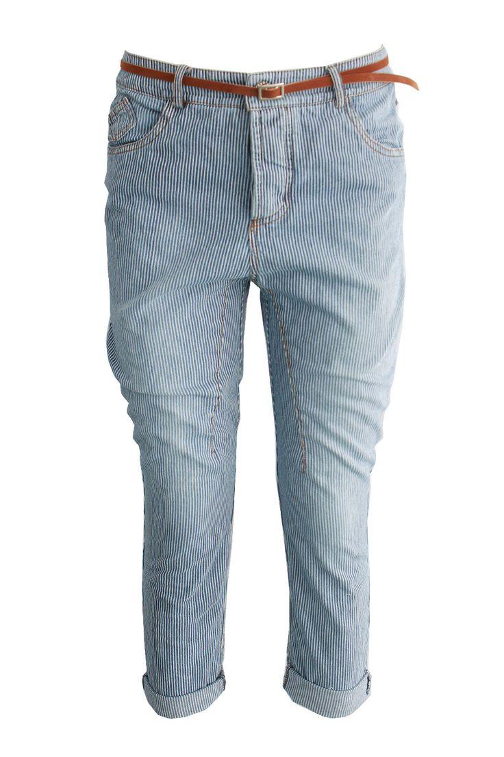Jeans gessato | Giorgia & Johns