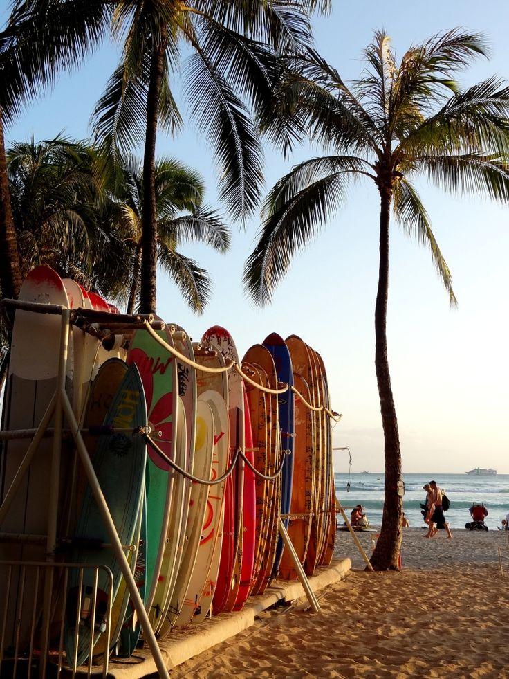Noord Amerika reizen   Hawaii   Oahu - Honolulu   Surfers Paradise