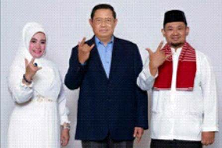 Siti Romlah kagumi kepemimpinan SBY dan siap pimpin Pandeglang
