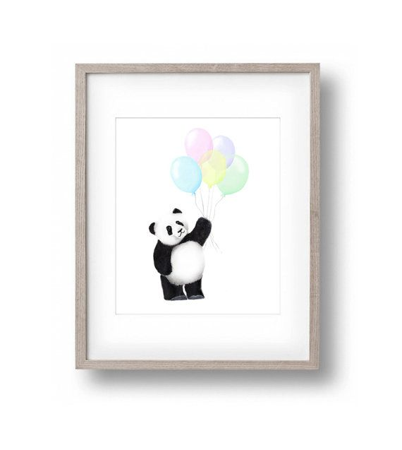 Hey, I found this really awesome Etsy listing at https://www.etsy.com/listing/229108792/panda-bear-nursery-balloons-animal