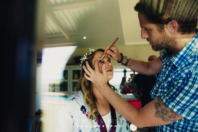 Paul Bedggood Makeup at Seclusions  #seclusion #seclusionswedding #seclusionsbluemountains