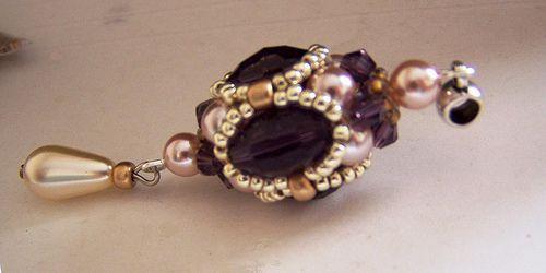 MC perline in stile barocco | biser.info - Tutto su perle e perline di lavoro