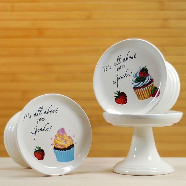Ayaklı cupcake tabağı