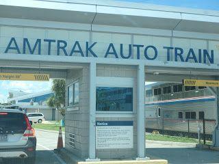 topflorideenfamille: L'auto train entre Washington et Orlando (Lorton-S...