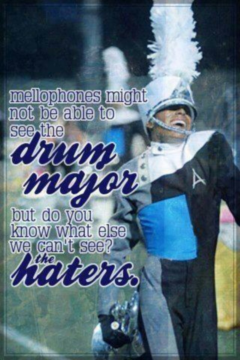 Ha, Im Smallest band member! #only mellophone player - Are you DrumCorpsReady.com