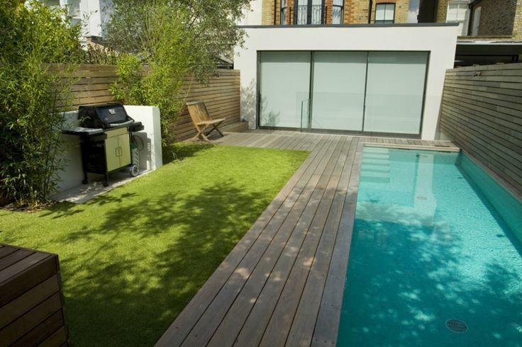 Design von kleinen Gärten mit kleinem Pool – Ideen und Ratschläge
