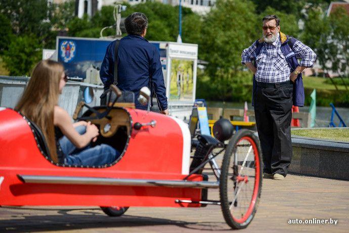 Истинно английский стиль, сэр! Как реплика Morgan 3 Wheeler стала веломобилем - Авто onliner.by