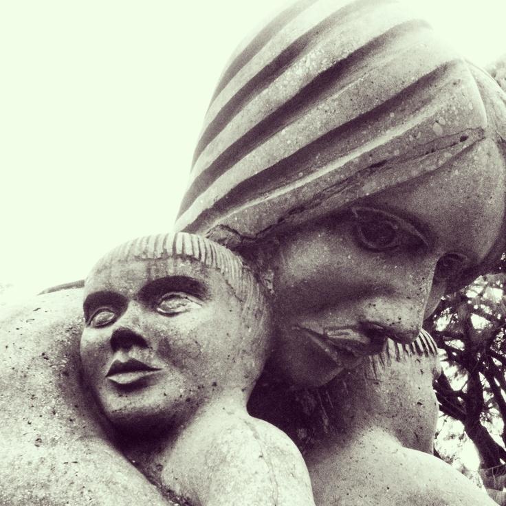 Sculpture, Upper Hutt, New Zealand - by Leyla Forbes