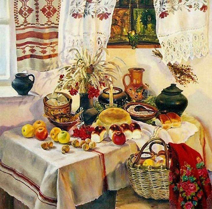 прекрасно картинки рождественского стола в старину называли хлебосолкой установка