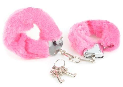 Begynder - Håndjern - lyserød fra XXdreamSToys - Sexlegetøj leveret for blot 29 kr. - 4ushop.dk - Tænker I på at prøve håndjern - prøv med disse begynder håndjern - de er i en lidt tyndere konstruktion end vores normale håndjern og egner sig derfor ikke til