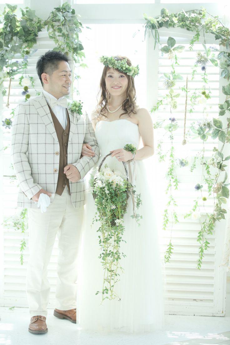 【挙式のお写真頂きました!!】|結婚式の新郎タキシード/新郎衣装はメンズブライダルへ