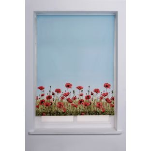 Buy 4ft Poppy Meadow Roller Blind - Multicoloured at Argos.co.uk - Your Online Shop for Blinds.