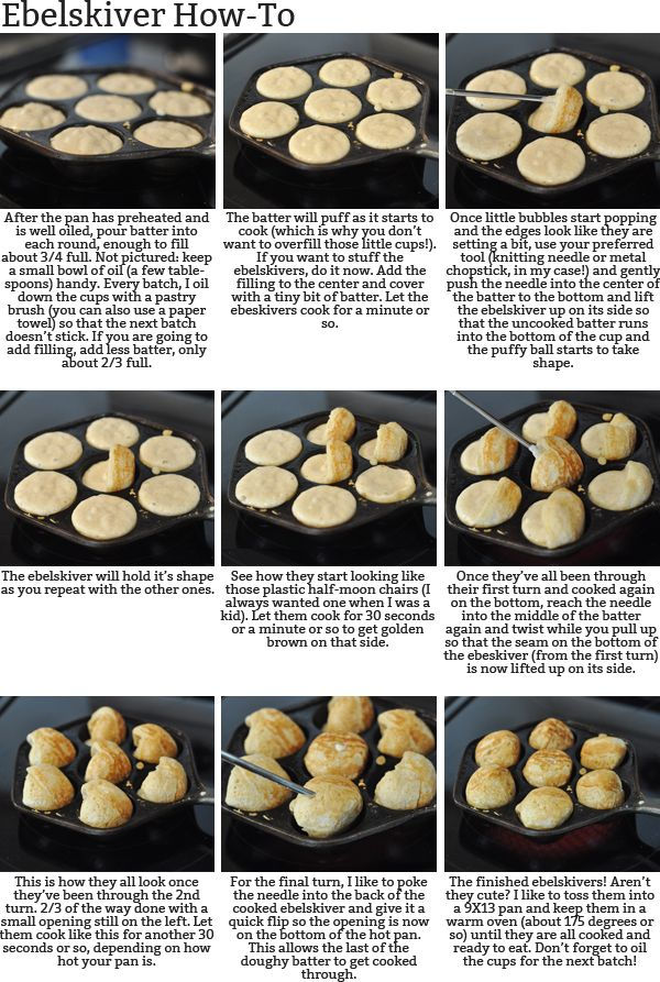 Ebelskivers: Puffy Danish Pancakes {A How-To and a Giveaway!} | Mel's Kitchen Cafe