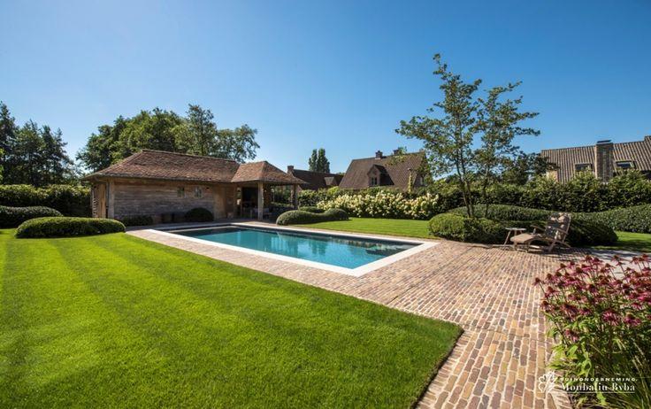 17 beste idee n over landelijk zwembad op pinterest tuinontwerp engelse tuinen en ronde zwembaden - Omgeving zwembad ontwerp ...