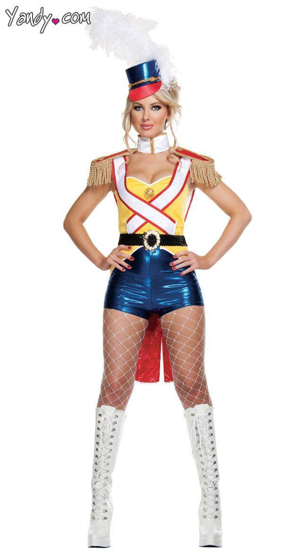 7 rainbow rhinestone ankle boots - Soldier Girl Halloween Costume