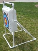 Self-Standing Archery Target Frame Design - PVC