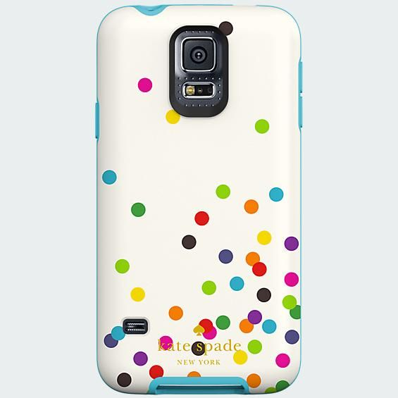 kate spade new york Flexible Hardshell Case for Samsung Galaxy S 5 - Confetti | Verizon Wireless