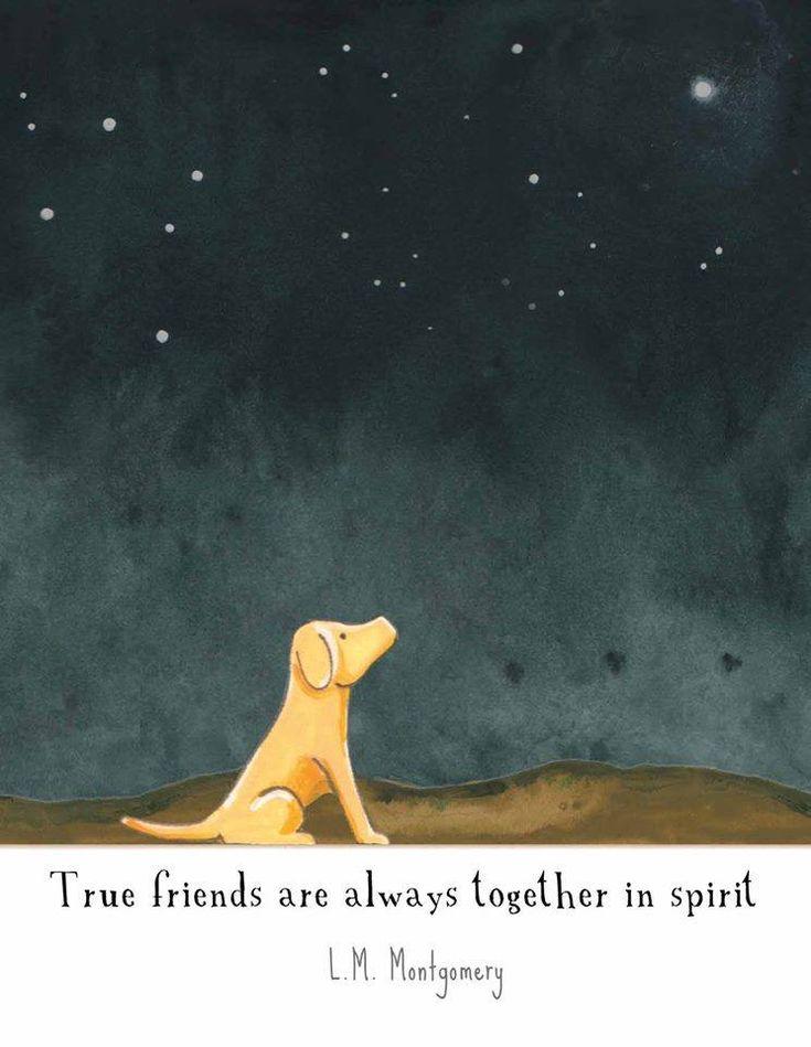 True friends . . .