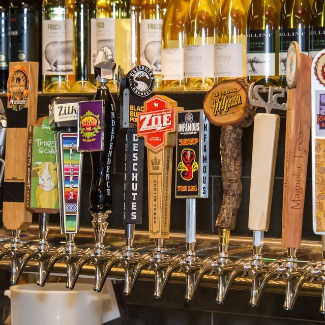 At MOUR Café + Pantry, all of our taps are #Texas craft brews because we love supporting local breweries! Our #HappyHour is everyday from 4-7PM, and they are all $4 each!  https://www.mourcafe.com/ 512-442-6687