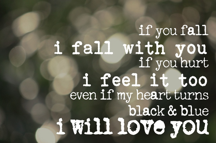 """JJ Heller's song """"If you fall"""". This is my favorite song from her """"Loved"""" Album"""