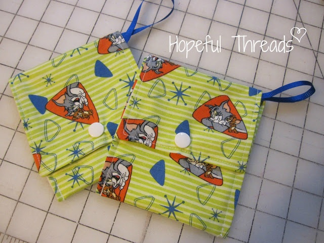 Hopeful Threads: Pet Treat Pouch - Free Sewing Tutorial