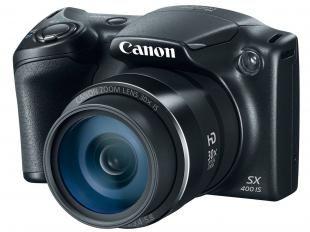 "Câmera Digital Canon PowerShot SX400IS 16.0MP - LCD 3"" Zoom Óptico 30x Panorâmica Cartão 8GB"