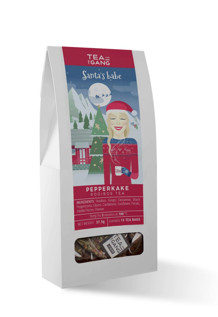 Even Santa has his favourite tea. ThisScandinavian Pepperkake (Spiced Gingerbread) Rooibos tea is perfect for those who need warming up duringthat festive time of year. Ingredients Rooibos, Cinna…