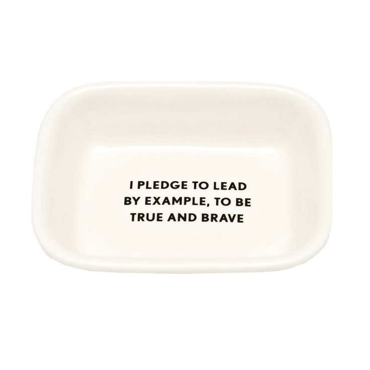 I Pledge... Soap Dish!