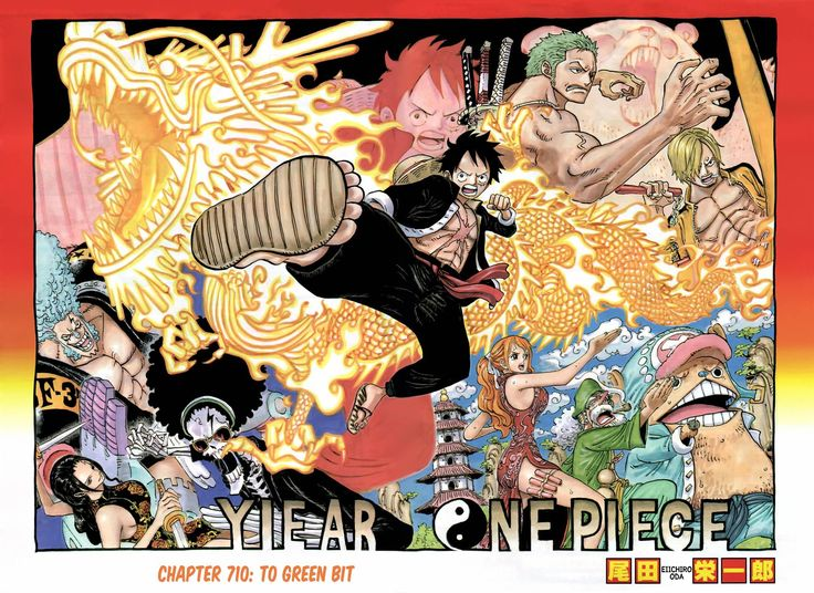 Read manga One Piece 710 online in high quality