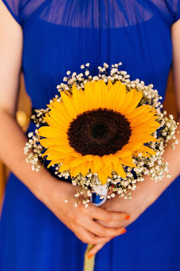 Sunflower Bouquet Bridesmaid Crafty Book Art Gallery Wedding http://www.pauljosephphotography.co.uk/