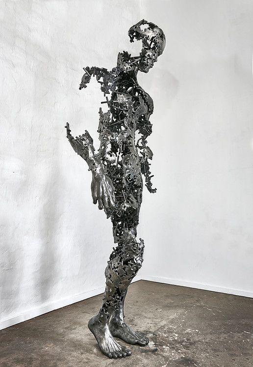 "Regardt van der Meulen South-African born sculptor. | ""I am just the pieces"""
