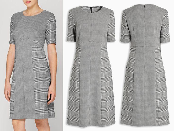 Next BlackWhite Puppytooth Dress